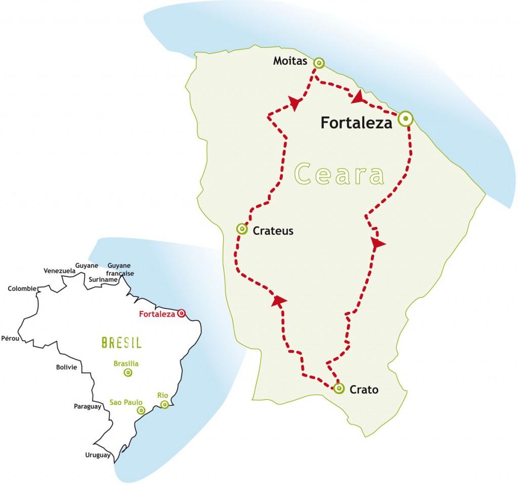 Brésil Nordeste Ceara