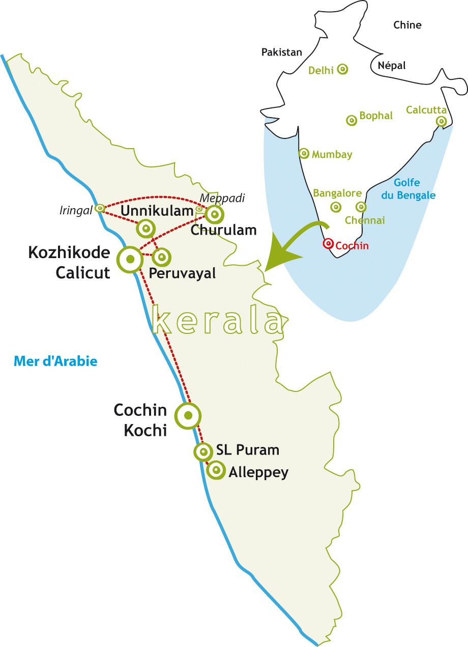 Inde voyage solidaire kerala Tamadi